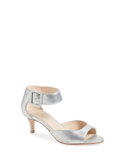 Pelle Moda | Metallic 'berlin' Sandal | Lyst