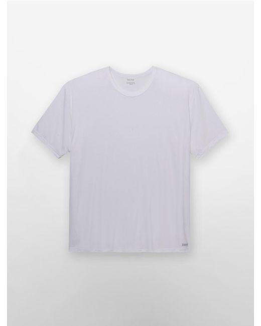 CALVIN KLEIN 205W39NYC - White Underwear Big + Tall Body Modal Crewneck T-shirt for Men - Lyst
