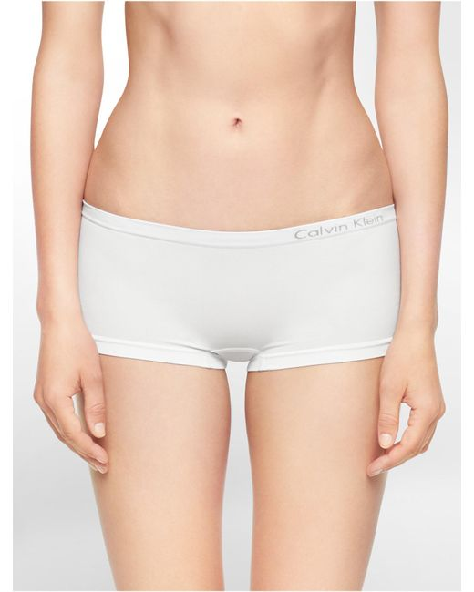Calvin Klein - White Underwear Pure Seamless Hipster - Lyst