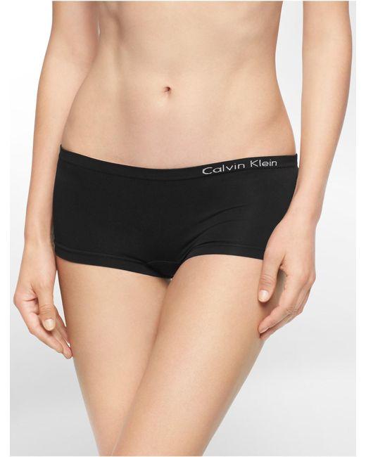 Calvin Klein | Black Underwear Pure Seamless Hipster | Lyst