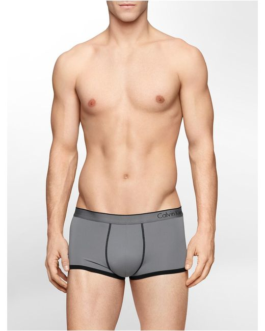 Calvin Klein | Gray Underwear Ck One Micro Low Rise Trunk for Men | Lyst