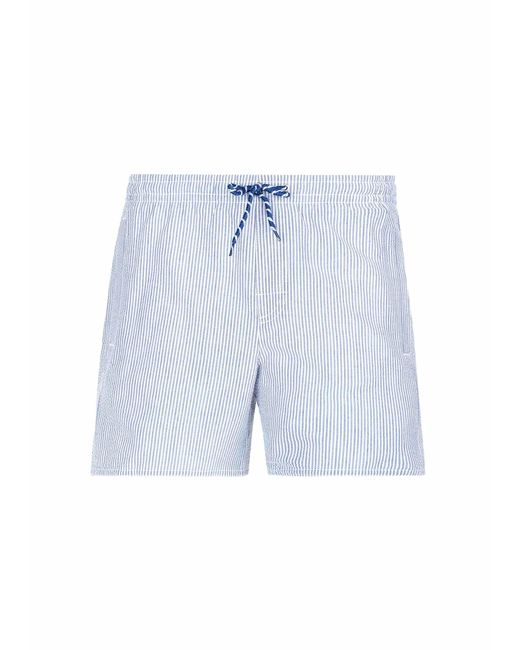 25c3bf677ed0b Calzedonia Formentera Swim Trunks in Blue for Men - Lyst