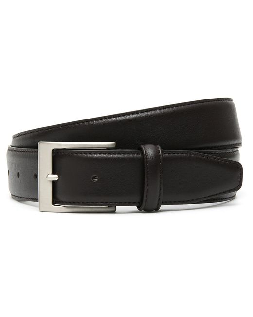 Canali - Dark Brown Calfskin Leather Belt for Men - Lyst