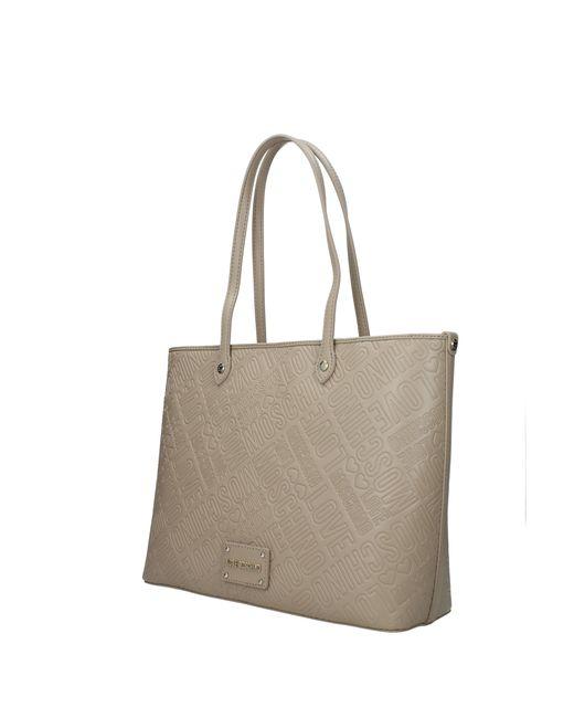 6ad3de499a30 Love Moschino - Multicolor Shoulder Bags Women Gray - Lyst ...