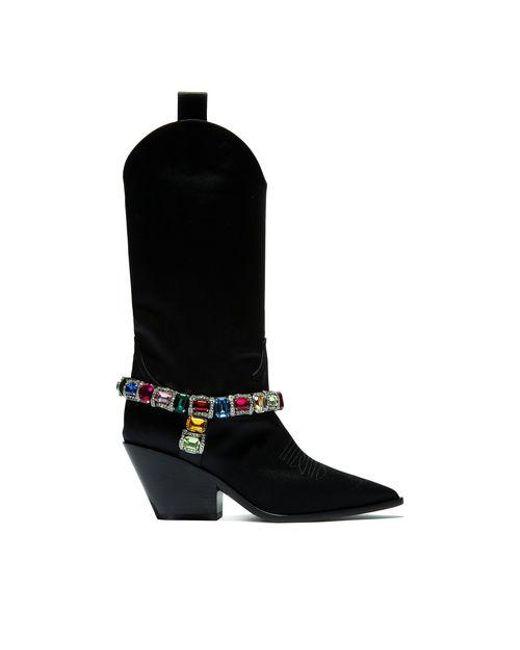 Casadei - Black Rodeo - Lyst ... f7970db1b56