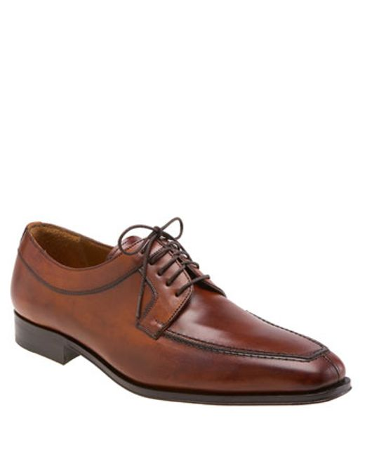 Mezlan | Brown 'hundley Ii' Split Toe Derby for Men | Lyst