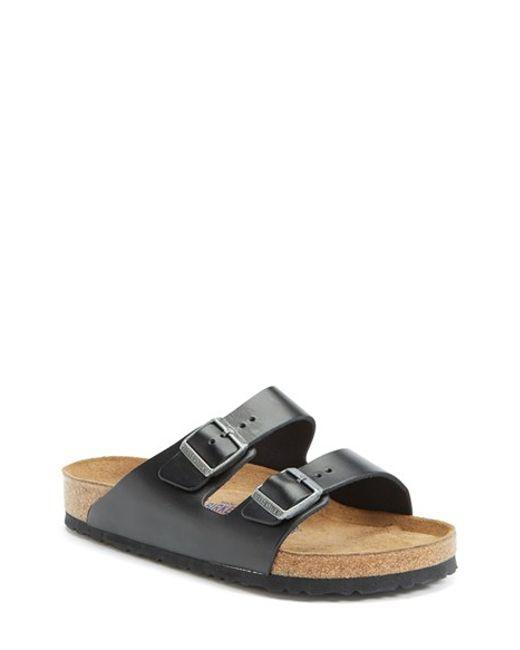 Birkenstock   Black 'arizona Soft' Sandal for Men   Lyst