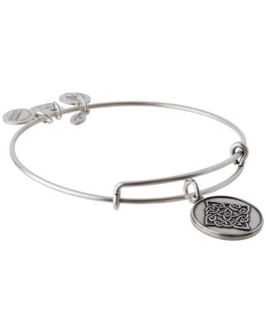 ALEX AND ANI | Metallic Celtic Knot Charm Bangle | Lyst