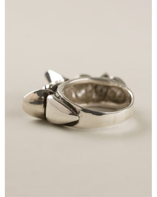 Pamela Love | Metallic Engraved Ring | Lyst