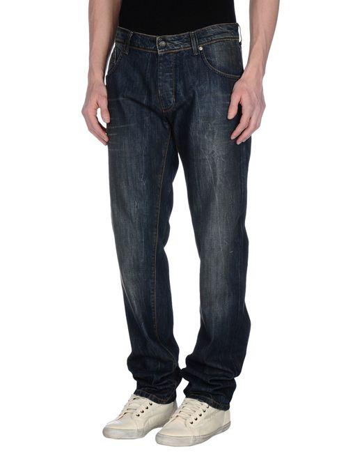 GAUDI | Blue Denim Pants for Men | Lyst