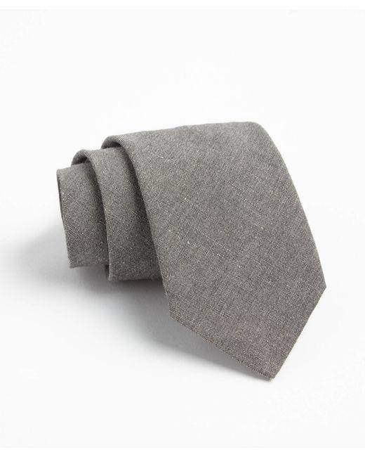 Todd Snyder | Gray Fulton Crosshatch Tie In Grey for Men | Lyst