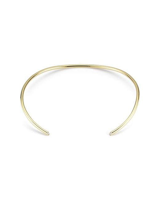 Elizabeth and James | Metallic 'obi' Collar Necklace | Lyst