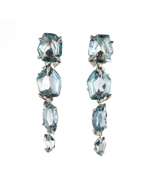 Alexis Bittar | Blue Four-drop Quartz Post Earring You Might Also Like | Lyst