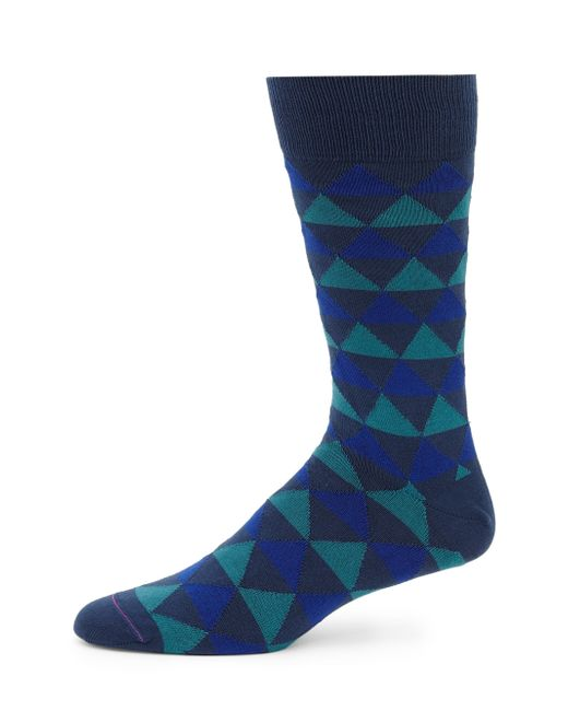Paul Smith | Blue Tri Striped Socks for Men | Lyst