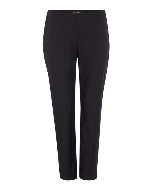 Ellen Tracy Ankle Side Zip Trouser In Black Save 51 Lyst