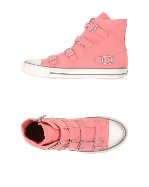 Ash   Pink High-tops & Trainers   Lyst