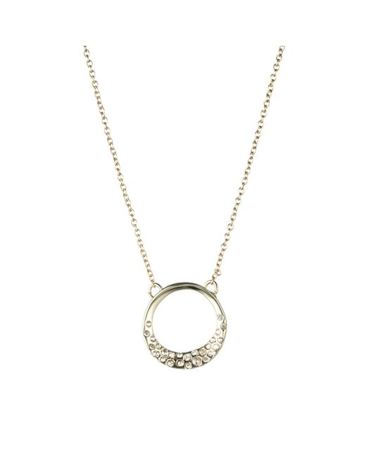 Alexis Bittar | Metallic Two-tone Spiked Crystal Pendant Necklace | Lyst