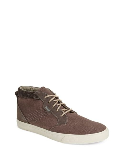 Reef | Gray 'Outhaul Tx' Sneaker for Men | Lyst