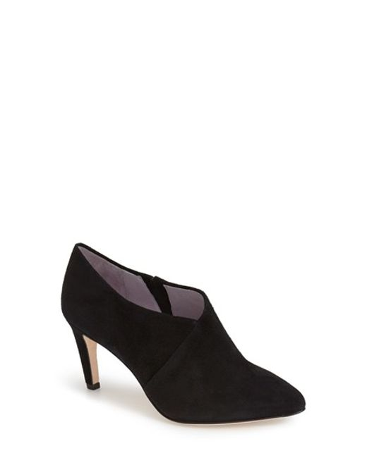 Johnston & Murphy | Black 'Isabel' Pointy Toe Ankle Bootie | Lyst