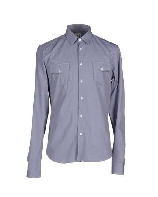 Obvious Basic | Blue Shirt for Men | Lyst