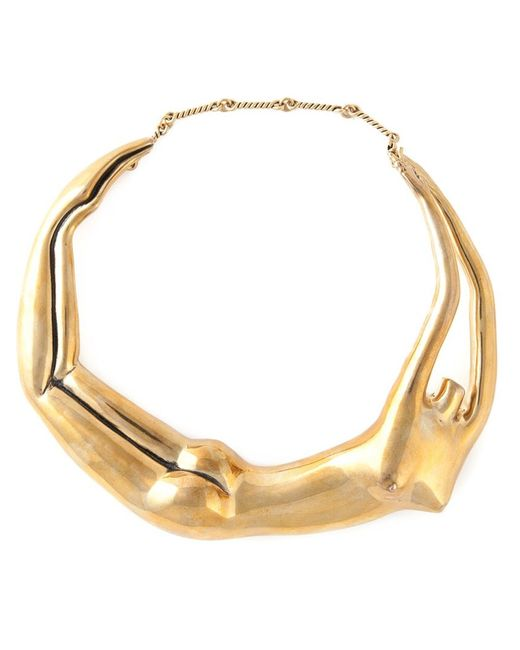 Aurelie Bidermann   Metallic 'body' Necklace   Lyst