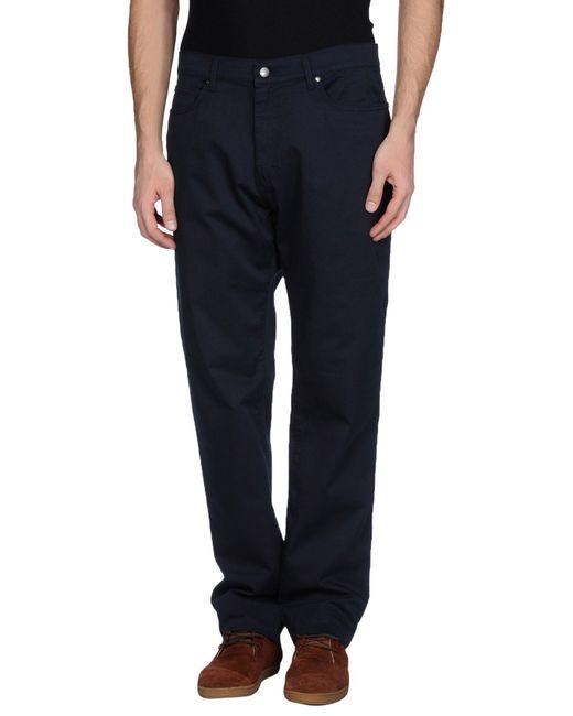 Trussardi | Blue Casual Pants for Men | Lyst