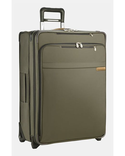 Briggs & Riley   Green 'large Baseline' Expandable Rolling Packing Case for Men   Lyst