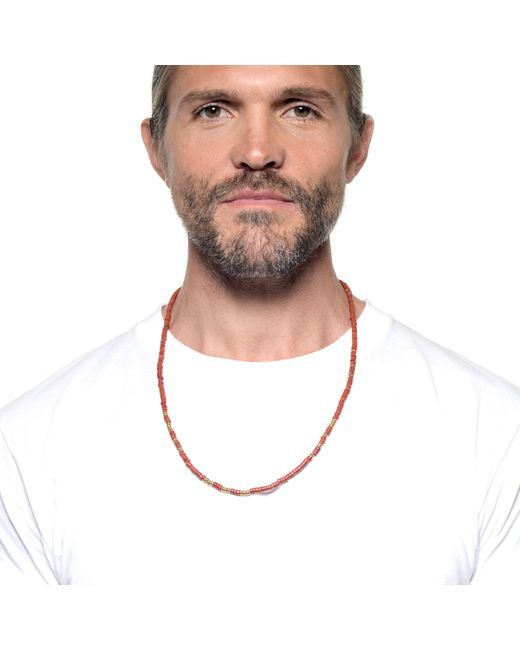 Lulu Frost | Metallic George Frost G. Frost Morse Necklace - Love for Men | Lyst