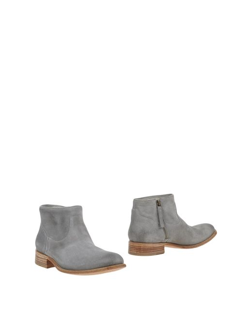 NDC   Gray Suede Ankle Boots   Lyst