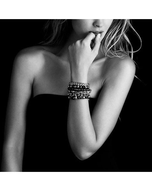 David Yurman | Dy Elements Bracelet With Black Onyx And Hematine, 8mm | Lyst