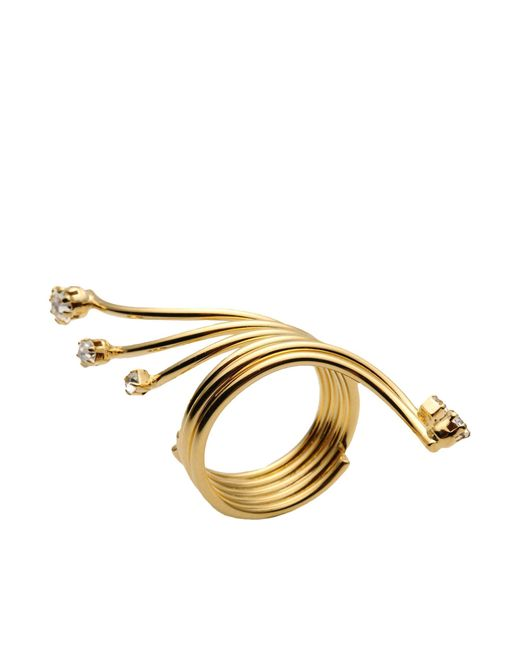 Vickisarge | Metallic Ring | Lyst