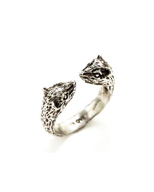 Pamela Love | Metallic Small Bear Ring | Lyst