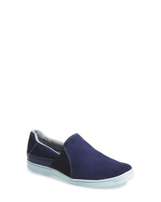 Ahnu | Gray 'precita' Slip-on Sneaker | Lyst