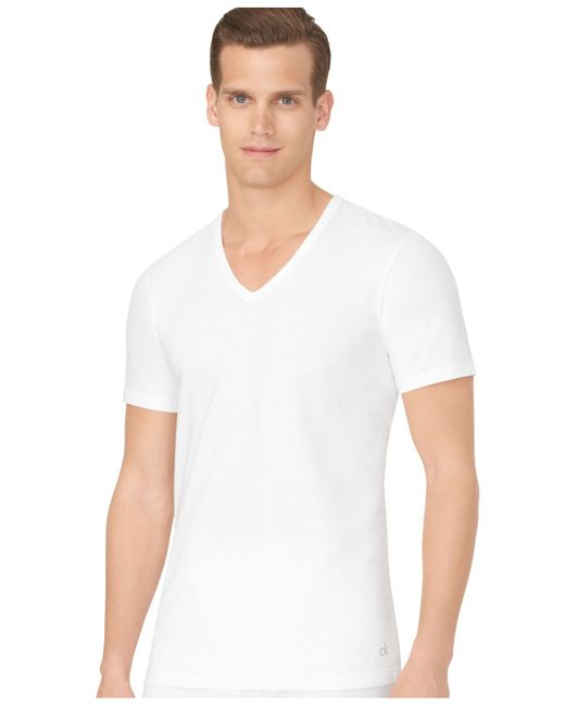 calvin klein white t shirt 3 pack