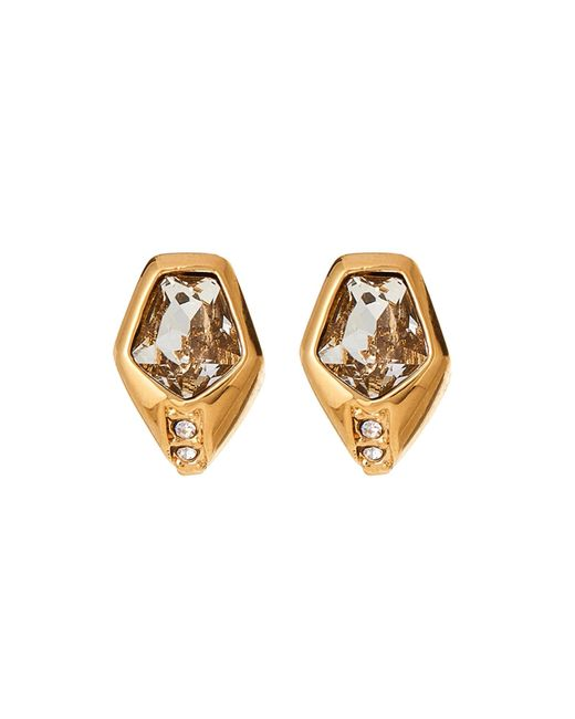 Vince Camuto - Metallic Gold-tone Stud Accented Earrings - Lyst