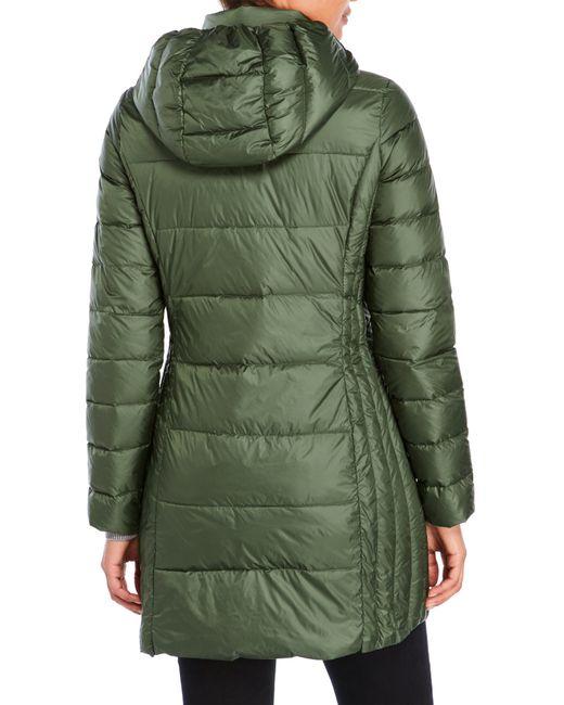Weatherproof Packable Ultra Light Down Long Jacket In