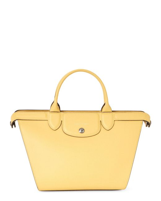 Longchamp - Yellow Le Pliage Heritage Medium Satchel - Lyst