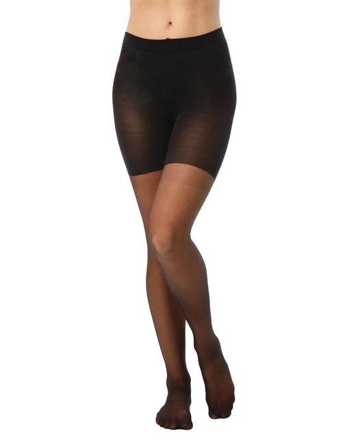 Spanx | Black All The Way Pantyhose | Lyst