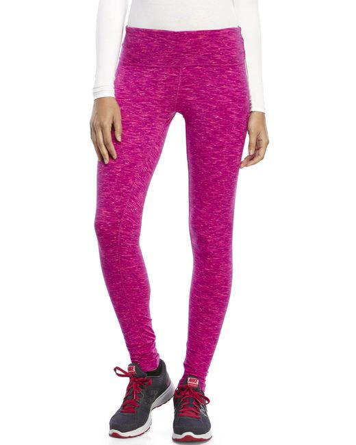 90 Degree By Reflex | Purple Space-Dye Performance Leggings | Lyst
