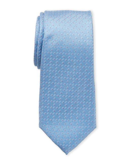 Ben Sherman - Blue Irving Micro Dot Silk Tie for Men - Lyst