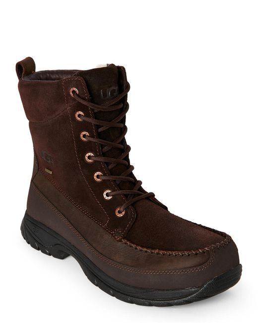 Ugg | Brown Stout Archibald Waterproof Snow Boots for Men | Lyst