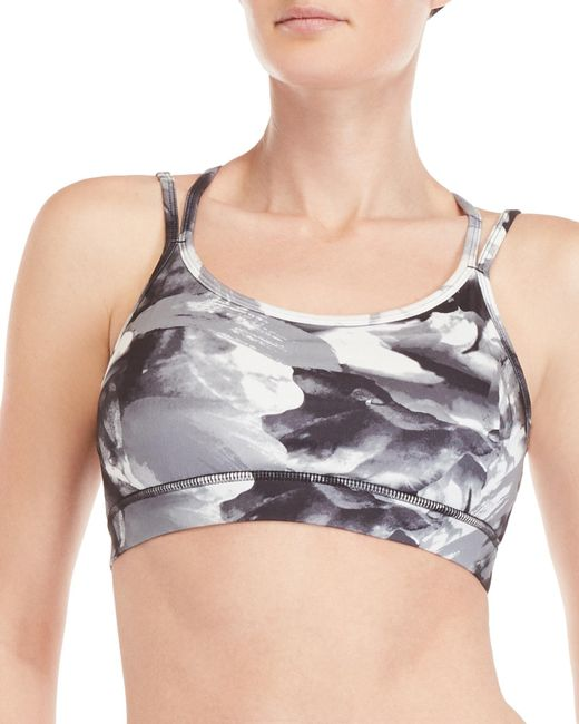 Gaiam - Gray Liv Grace Sports Bra - Lyst