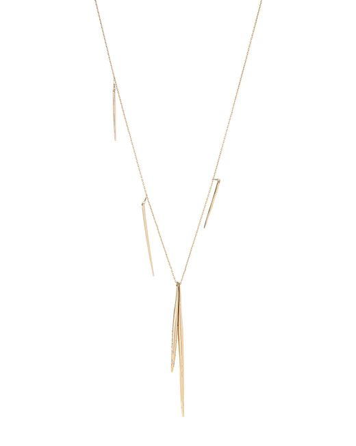 Alexis Bittar - Metallic Gold-tone Long Spear Necklace - Lyst