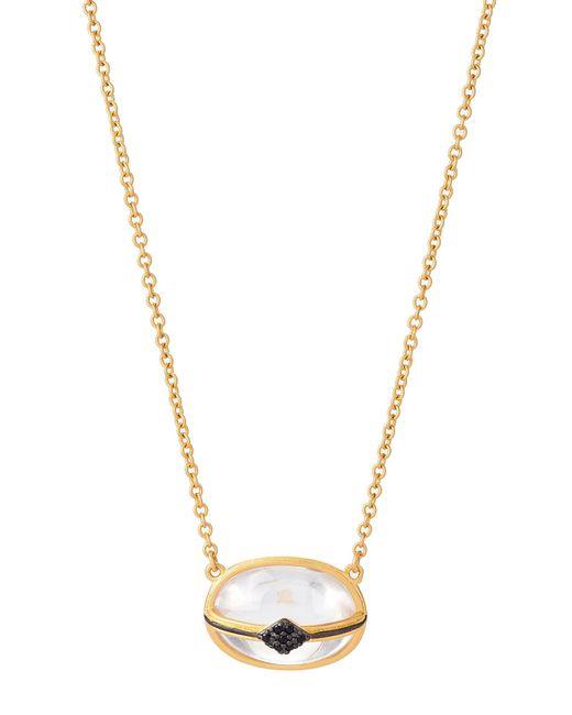 Freida Rothman - Multicolor Gold-tone Caged Pendant Necklace - Lyst