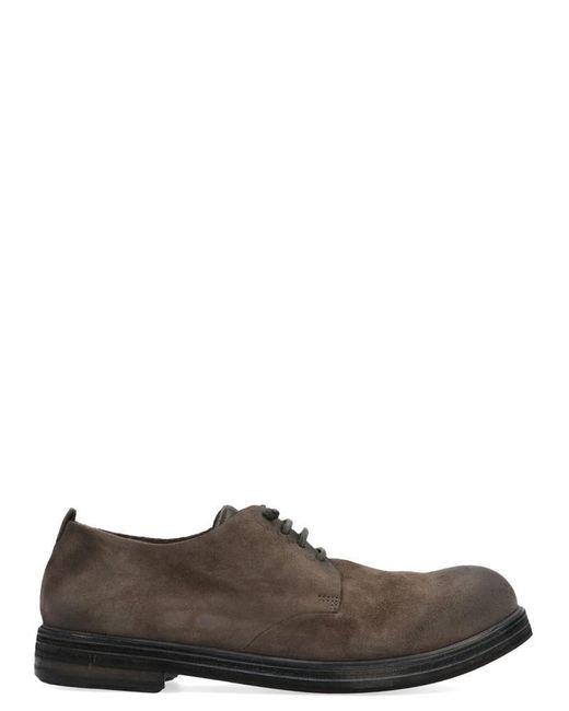 Marsèll Brown Zucca Zeppa Derby Shoes for men