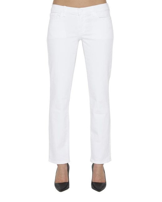 2af3913eb00c Lyst - J Brand Hipster Jeans in White