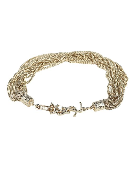 Saint Laurent - Metallic Loulou Bracelet - Lyst