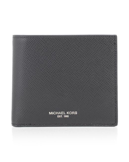 bb9c6861deaa1 Lyst - Michael Kors Billfold Wallet in Black for Men