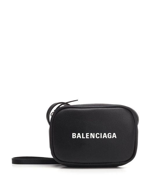 Balenciaga - Black Everyday Camera Crossbody Bag - Lyst