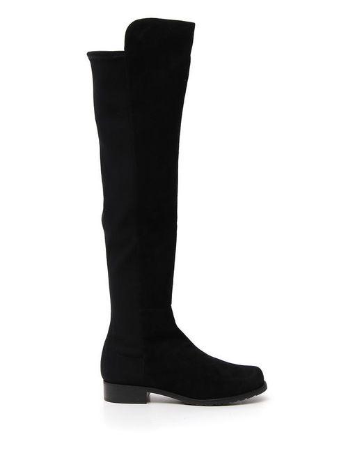 Stuart Weitzman - Black 5050 Boots - Lyst